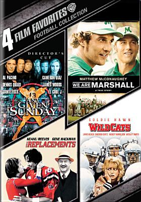 4 FILM FAVORITES:FOOTBALL COLLECTION BY DIAZ,CAMERON (DVD)